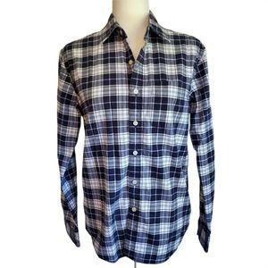 American Eagle Flannel Classic Fit Button up Plaid Shirt Women's XS